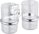 Dvojdržiak na poháriky sklo / plast